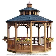 backyard gazebos for outdoor entertaining coronado oval