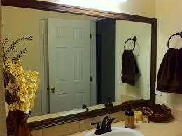 Frame Your Bathroom Mirror Bathroom Mirror Frames Diy Best Bathroom Decoration