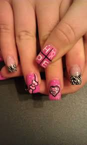 468 best pink for october nails art images on pinterest make