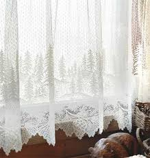 Pine Cone Lace Curtains Pine Cone Lace Curtains From Heritage Fabulous Fabrics Trims