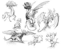 kiddography micron drawings