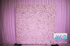 wedding backdrop rental nyc flower wall rentals in new jersey new york new jersey new