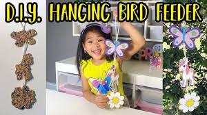 diy cute hanging bird feeder handmade hanging bird feeder