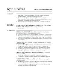 Scientist Resume Researcher Resume Sample Research Assistant Resume Example