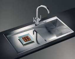 Chrome Kitchen Sink The Sink In The Kitchen Design Remodeling Kitchen Ideas