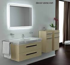 bathroom rectangular bathroom mirrors with lights and white