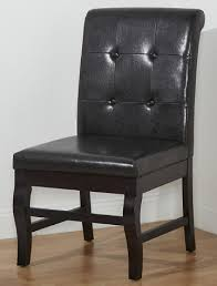 Leather Parsons Chairs Home Chairs And Furniture