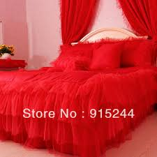 white ruffle wedding queen bedding set king size pink lace rustic
