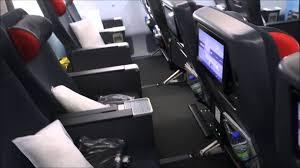 air siege plus air canada 787 800 economy bulkhead seat walkthrough review