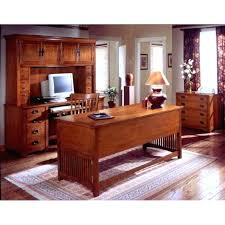 mission style desk mission shaker craftsman style oak desk hutch