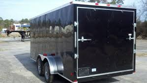 enclosed trailer exterior lights buy sell new used trailers black 7x16 cargo trailer at