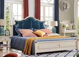 local bedroom furniture stores blue color solid wood american design antique bedroom furniture king
