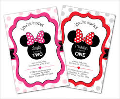 Free Printable Minnie Mouse Invitation Template by Awesome Minnie Mouse Invitation Template 27 Free Psd Vector