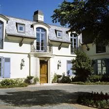 French House Design Awesome French House Exterior Mediterranean With Outdoor Lighting