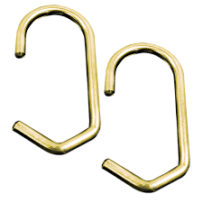 Shower Curtain Holders The Shower Curtain Ring Set Of 12 Brass Drapery Hooks Curtain