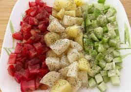 cuisine saine et simple images gratuites en bonne santé repas tomates patates chayote