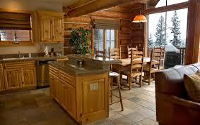 Cabin Kitchen Ideas Kitchen Lake Cabin Kitchen Ideas Island Designs Log Countertops