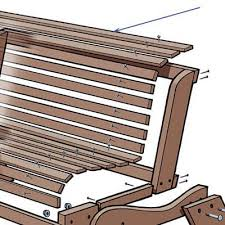 install the slats how to build a garden bench this old house wood