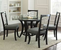 steve silver cayman 5 piece round dining room set w faux marble