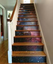 Laminate Flooring Stairs 10 Diy Ways To Step Up Your Stair Game Spoonflower Blog