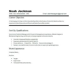 resume objective examples general labor sample retail for software