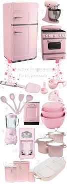 pink retro kitchen collection current obsession pink kitchens