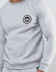 latest hype grey sweatshirt for men sale online
