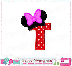 minnie mouse monogram mouse ears monogram t applique minnie mouse letter t applique t