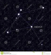 Sky Maps Sky Map With Stars And Constellations Royalty Free Stock Image
