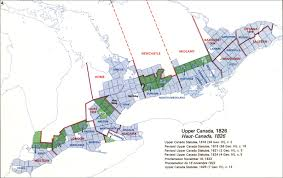 Map Of Ontario The Changing Shape Of Ontario The Evolution Of The District And