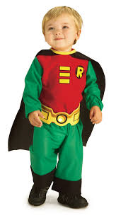6 12 Month Halloween Costumes Teen Titans Costumes
