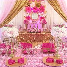 pink and gold baby shower ideas pink and gold baby shower decorations design decoration