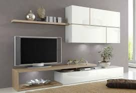 Meuble Salon Chene Clair by Meuble Tv Bois Suspendu Meuble Tv Design Avec Led Maisonjoffrois