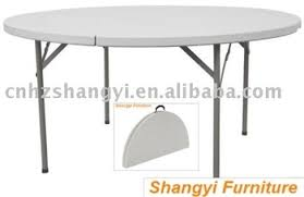 5 foot round table 5 foot plastic banquet round folding table buy plastic banquet