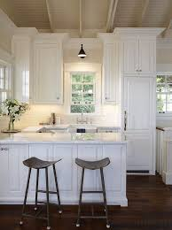 Small White Kitchen Cabinets Small Kitchen With White Cabinets Gorgeous Design Ideas Small