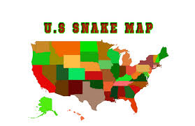 A Bite Of North America by North American Snakes U S Interactive Map U2013 Cobras Org