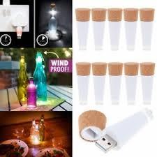 cork shaped rechargeable bottle light cork shaped rechargeable usb led wine bottle stopper night light