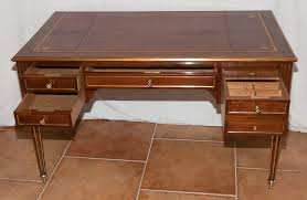 bureau style louis xvi bureau plat louis xvi style mahogany early nineteenth century desks