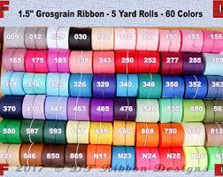 grosgrain ribbon bulk grosgrain ribbon etsy