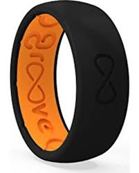Silicone Wedding Ring by Fall Sale Groove Life Silicone Elastomer Wedding Rings Breathable