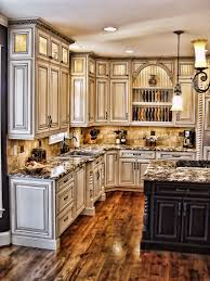 rustic cabinets kitchen home decoration ideas