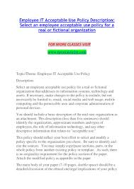 information technology policy template contegri com