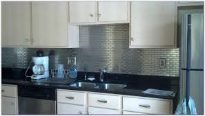 Stainless Steel Backsplashes For Kitchens The Best Stainless Steel Backsplash Self Adhesive Peel Stick Metal