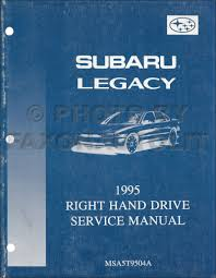 1995 1999 subaru legacy repair shop manual 12 volume set original
