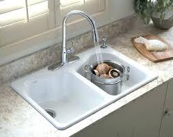 kohler cast iron kitchen sink kohler cast iron kitchen sink awesome undermount sinks for white
