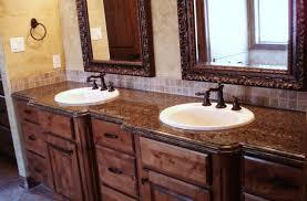 Granite Countertops For Bathroom Vanities Sink Bathroom Countertop Material Options Stunning Bathroom