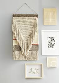 decorating simple beige tapestry wall hangings with wall picture