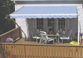 Retractable Porch Awnings Sunsetter Motorized Retractable Awnings In La By Galaxy Draperies