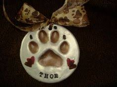 glazed clay paw search animal lover eye