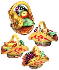 two peas in a pod christmas ornament limoges box fruits and vegetables from bonnie s limoges